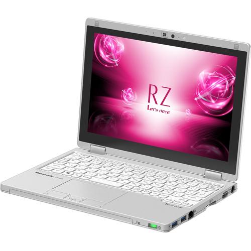 【長期保証付】パナソニック CF-RZ61DFQR(シルバー) Let's note RZ6 10.1型液晶