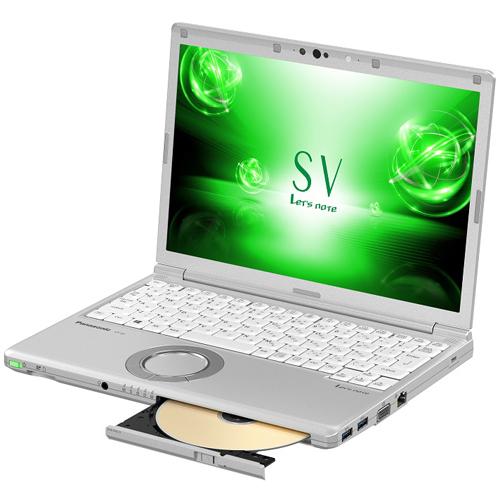 【長期保証付】パナソニック CF-SV73FRQR(シルバー) Let's note SV7 12.1型液晶