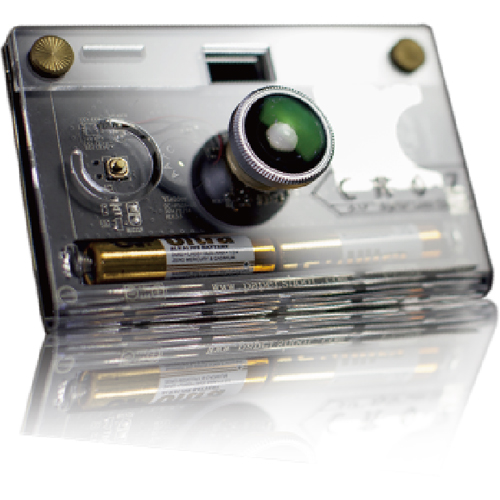Paper Shoot CROZ Transparent Camera 透明DIYカメラ