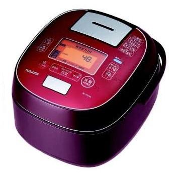東芝 RC-10VSM-RS(ディープレッド) 合わせ炊き 真空圧力IHジャー炊飯器 5.5合
