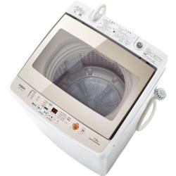 【設置】アクア AQW-GV70G-W(ホワイト) 全自動洗濯機 上開き 洗濯7.0kg