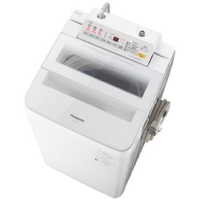 【設置】パナソニック NA-FA70H6-W(ホワイト) 全自動洗濯機 上開き 洗濯7kg
