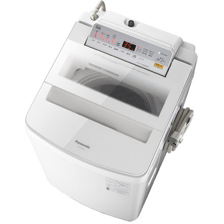 【設置】パナソニック NA-FA100H6-W(ホワイト) 全自動洗濯機 上開き 洗濯10kg