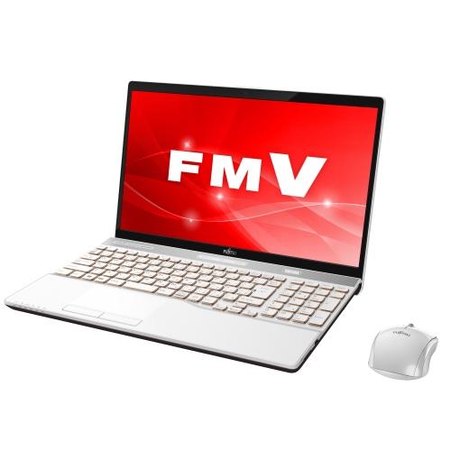 富士通 FMVA53C2W(プレミアムホワイト) LIFEBOOK AHシリーズ 15.6型液晶