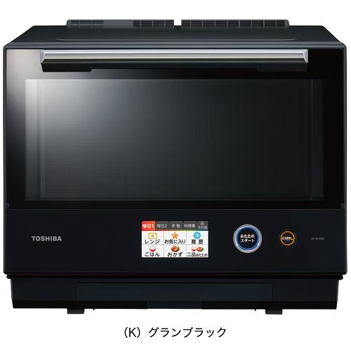 東芝 ER-SD7000-K(グランブラック) 石窯ドーム 過熱水蒸気オーブンレンジ 30L