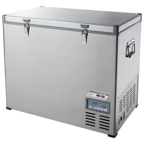 【長期保証付】ナカトミ NAKATOMI PRF-128 ポータブル冷凍冷蔵庫 単相100V・DC12V・DC24V PRF128 ひんやり 熱対策 アイス 冷感 保冷 冷却 熱中症 涼しい クール 冷気