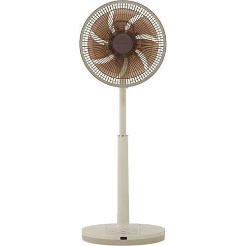 APIX AFL-338R-CG(アイボリー×シャンパンゴールド) DCリビング扇風機 30cm リモコン付 AFL338RCGひんやり 熱対策 アイス 冷感 保冷 冷却 熱中症 涼しい クール 冷気