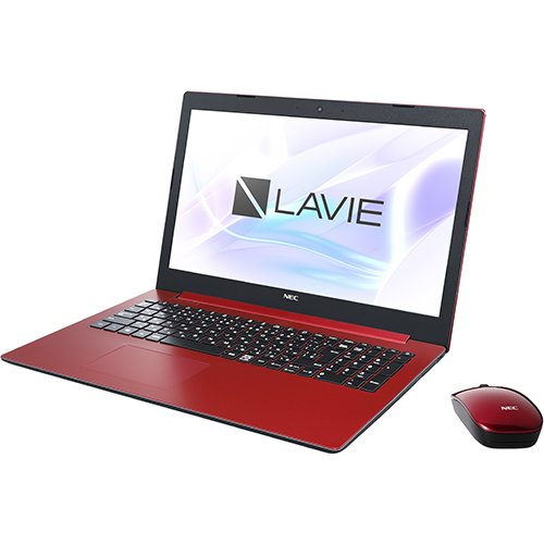 NEC PC-NS600KAR(カームレッド) LAVIE Note Standard 15.6型液晶