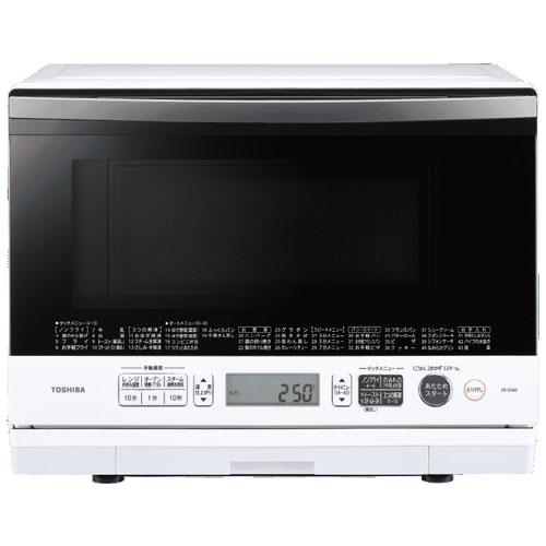 【長期保証付】東芝 ER-SD80-W(グランホワイト) 過熱水蒸気オーブンレンジ「石窯ドーム」26L