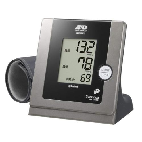 A&D UA-851PBT-C-B(ブラック) Bluetooth内蔵 パーソナル血圧計