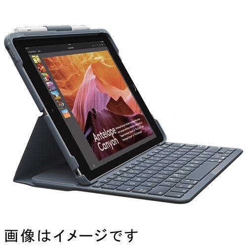 ロジクール iK1053BK(ブラック) SLIM FOLIO FOR IPAD Bluetooth対応キーボードケース 無線 英語配列