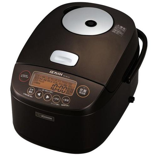 象印 NP-BH18-TA(ブラウン) 極め炊き 圧力IH炊飯ジャー 1升