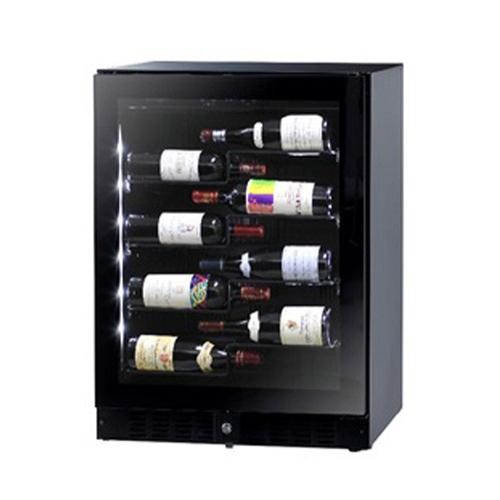 【設置+リサイクル+長期保証】ファンヴィーノ BU138AR(ブラック) ワインセラー 138L 40本収納 右開き