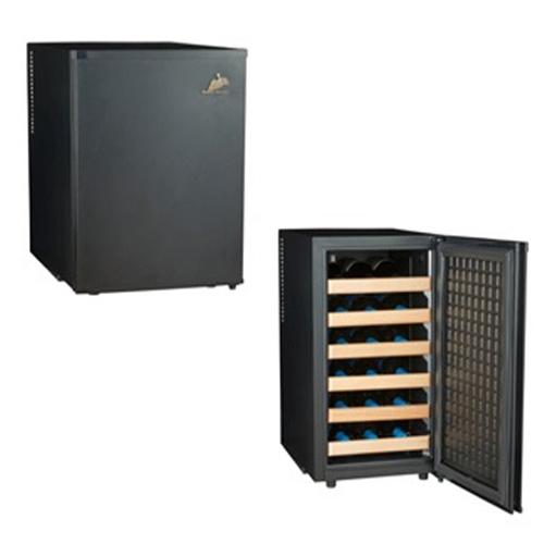 【設置+長期保証】三ツ星貿易 MLY65CE(ブラック) ワインセラー 65L 18本収納 右開き