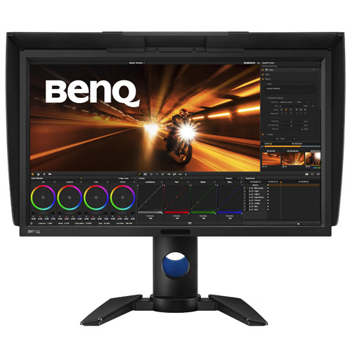【長期保証付】BENQ PV270(ブラック) 27型ワイド 映像編集向けカラーマネジメント 液晶ディスプレイ