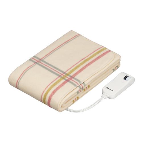 パナソニック DB-US12LS-C(ベージュ) 電気毛布 敷毛布タイプ シングルLSサイズ 160×80cm