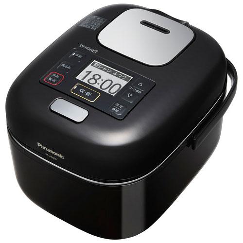 【長期保証付】パナソニック SR-JW058-KK(シャインブラック) Wおどり炊き 可変圧力IHジャー炊飯器 3合