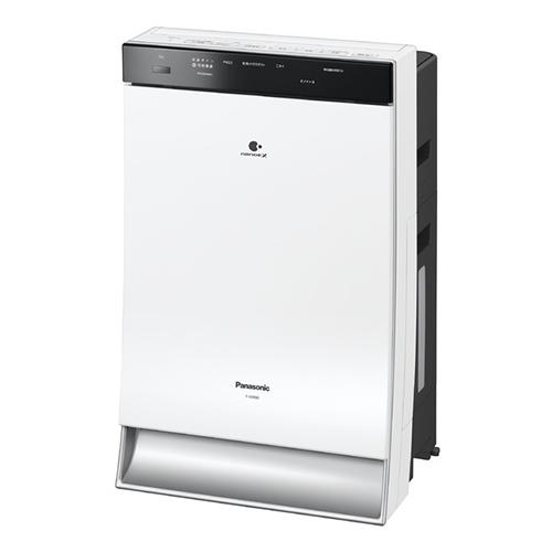 【長期保証付】パナソニック F-VXR90W-W(ホワイト) 加湿空気清浄機 空気清浄40畳/加湿24畳