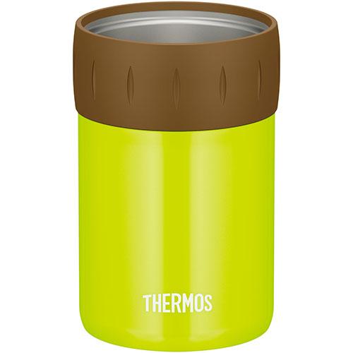 直営店 日時指定 在庫あり 14時までの注文で当日出荷可能 サーモス JCB-352-LMG 保冷缶ホルダー 350ml缶用 ライムグリーン