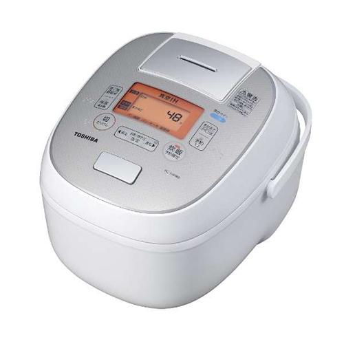 【長期保証付】東芝 RC-10VRM-W(グランホワイト) 合わせ炊き ジャー炊飯器 5.5合