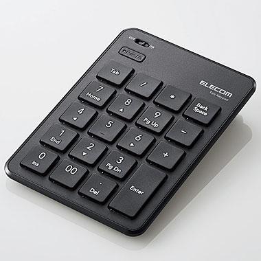 エレコム 激安通販 TK-TBP020BK Bluetooth薄型テンキーパッド 新作送料無料 ブラック