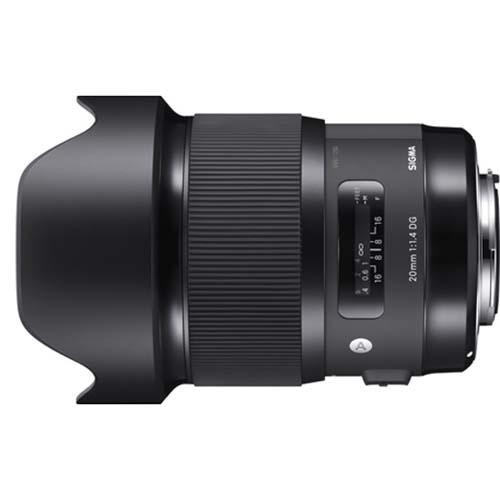 【長期保証付】シグマ 20mm F1.4 DG HSM ソニー Eマウント用
