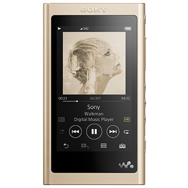 【送料無料】【在庫あり】14時までの注文で当日出荷可能! ソニー NW-A55HN-N(ペールゴールド) ウォークマン 16GB