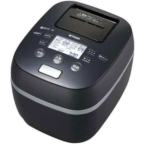 【長期保証付】タイガー魔法瓶 JPJ-A060-KS(シルキーブラック) 炊きたて 土鍋圧力IH炊飯ジャー 3.5合