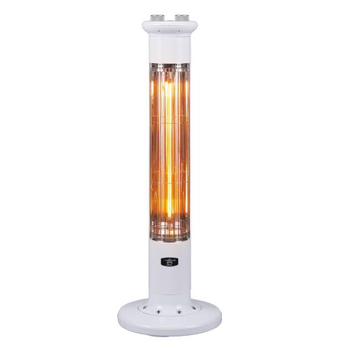 アラジン AEH-2G92N-W(ホワイト) 遠赤外線NEWグラファイトeヒーター 1灯管 電気ストーブ