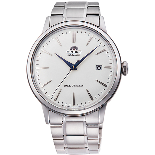 【長期保証付】オリエント RN-AC0001S クラシック 機械式時計 (メンズ)