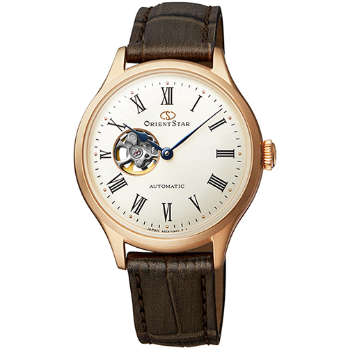 【長期保証付】オリエント RK-ND0003S Orient Star クラシック セミスケルトン 機械式時計 (メンズ)