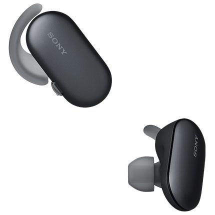 ソニー WF-SP900-B(ブラック) ワイヤレスステレオヘッドセット