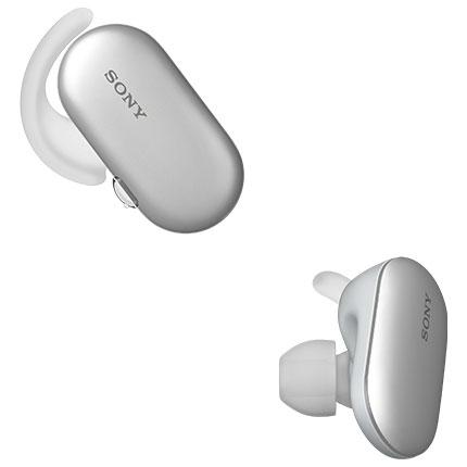 【長期保証付】ソニー WF-SP900-W(ホワイト) ワイヤレスステレオヘッドセット