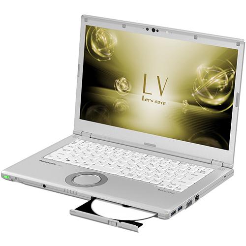 【長期保証付】パナソニック CF-LV7JDVQR(シルバー) Let's note LV7 14.0型液晶