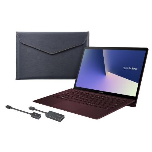 【長期保証付】ASUS UX391UA-825R(バーガンディレッド) ZenBook S UX391UA 13.3型液晶