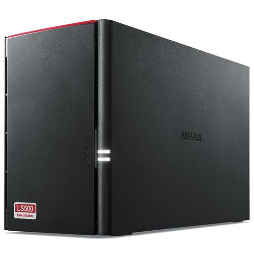 バッファロー LS520D0402G リンクステーション ネットワーク対応HDD(NAS) 2ドライブ 4TB