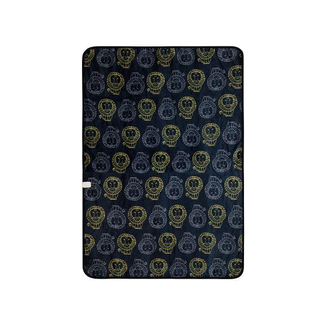【長期保証付】コイズミ KDK-L302 電気掛敷毛布 リサラーソン ライオン柄