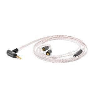 オヤイデ電気 Palette8 MX-A BAL OpalWhite(ホワイト) MMCXイヤホン用リケーブル