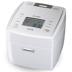 三菱 NJ-VE189-W(ピュアホワイト) 炭炊釜 ジャー炊飯器 1升