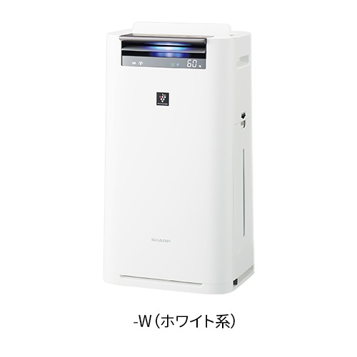 シャープ KI-JS50-W(ホワイト) プラズマクラスター25000搭載 加湿空気清浄機 空気清浄23畳/加湿15畳