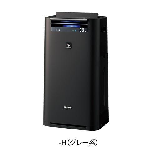 シャープ KI-JS50-H(グレー) プラズマクラスター25000搭載 加湿空気清浄機 空気清浄23畳/加湿15畳