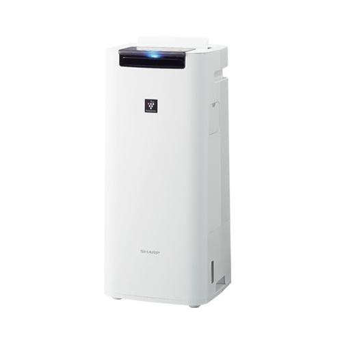 シャープ KI-JS40-W(ホワイト) プラズマクラスター25000搭載 加湿空気清浄機 空気清浄18畳/加湿12畳
