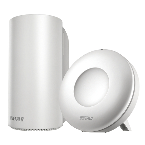 バッファロー WRM-D2133HP/E1S AirStation connect 無線LANルーター + 専用中継機1台セット