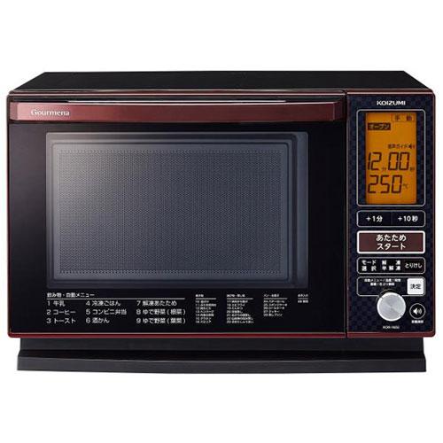 コイズミ KOR-1602/R(レッド) オーブンレンジ