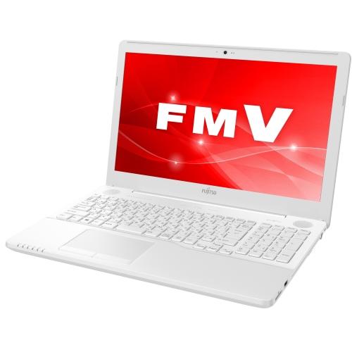 【長期保証付】富士通 FMVA50C3WP(プレミアムホワイト) LIFEBOOK AHシリーズ 15.6型液晶