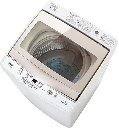 【設置+リサイクル(別途料金)】アクア AQW-GS70G-W(ホワイト) 全自動洗濯機 上開き 洗濯7kg