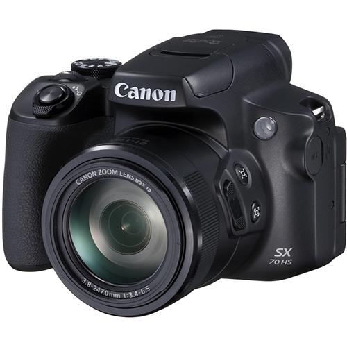 【長期保証付】CANON PowerShot SX70 HS ブラック