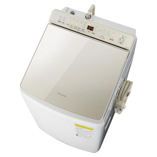 【標準設置料金込】【長期保証付】【送料無料】パナソニック NA-FW100K8-N(シャンパン) 洗濯乾燥機 上開き 洗濯10kg/乾燥5kg[代引・リボ・分割・ボーナス払い不可]