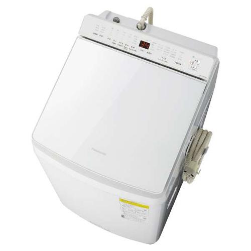 【標準設置料金込】【送料無料】パナソニック NA-FW100K8-W(ホワイト) 洗濯乾燥機 上開き 洗濯10kg/乾燥5kg[代引・リボ・分割・ボーナス払い不可]