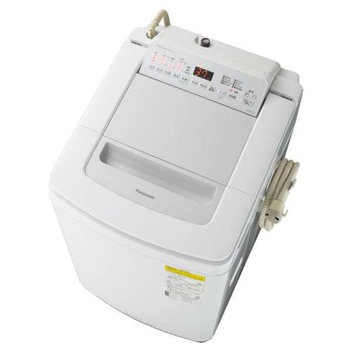 【標準設置料金込】【送料無料】パナソニック NA-FD80H8-S(シルバー) 洗濯乾燥機 上開き 洗濯8kg/乾燥4.5kg[代引・リボ・分割・ボーナス払い不可]